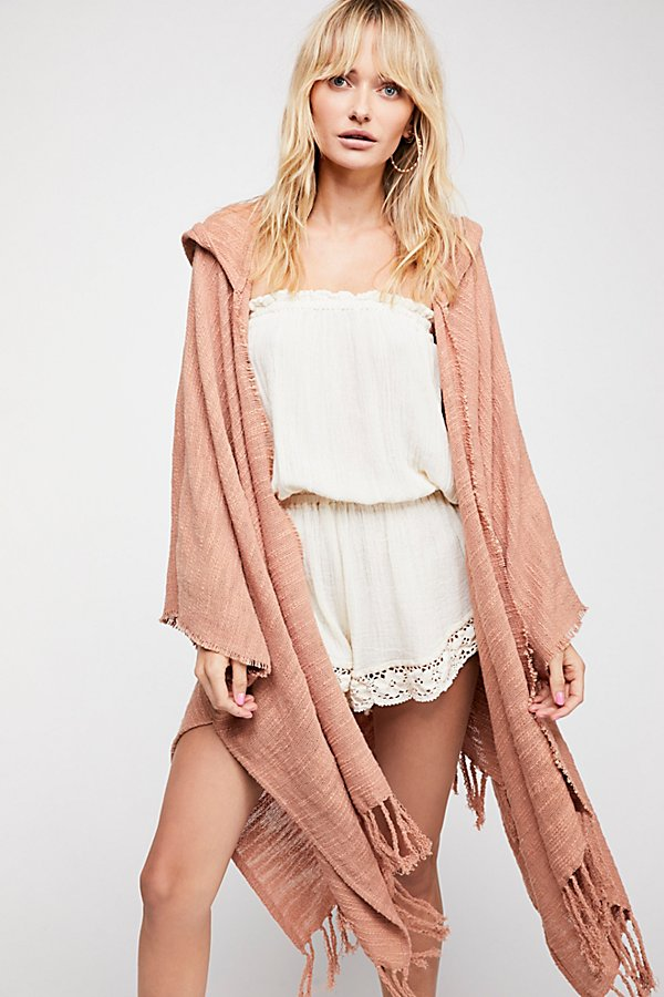 Slide View 1: Dawn to Dusk Hooded Kimono