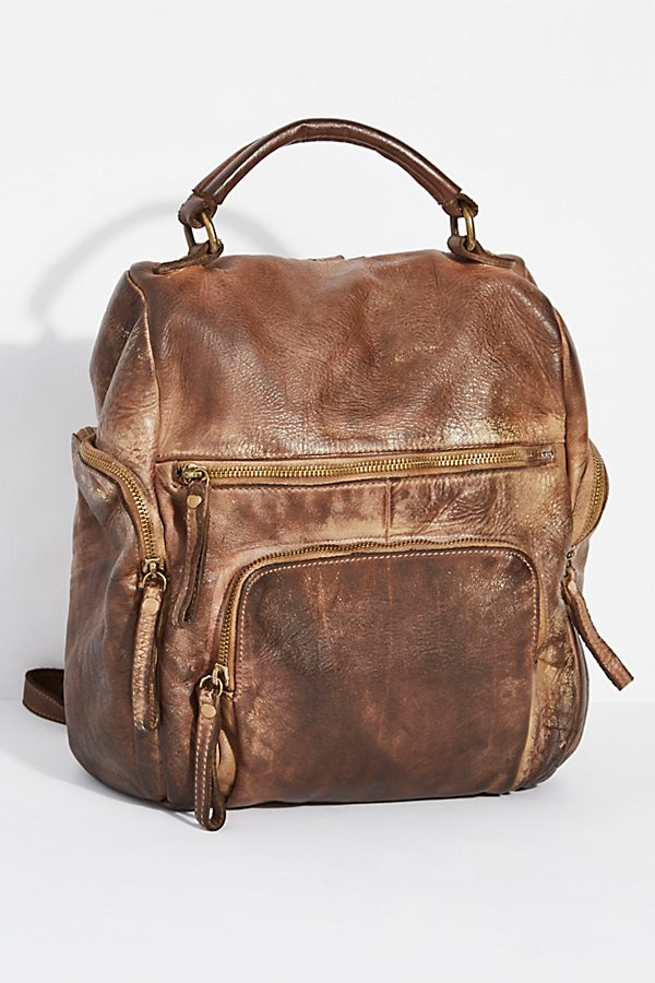 Slide View 1: Sassari Leather Backpack