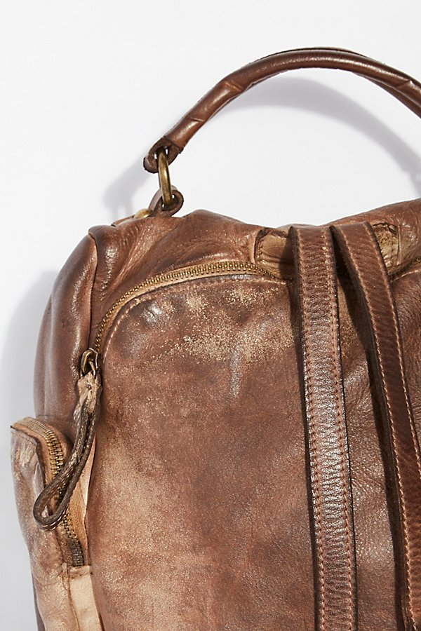 Slide View 4: Sassari Leather Backpack