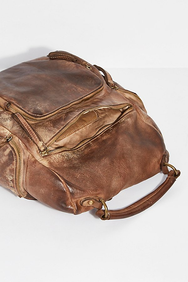 Slide View 5: Sassari Leather Backpack