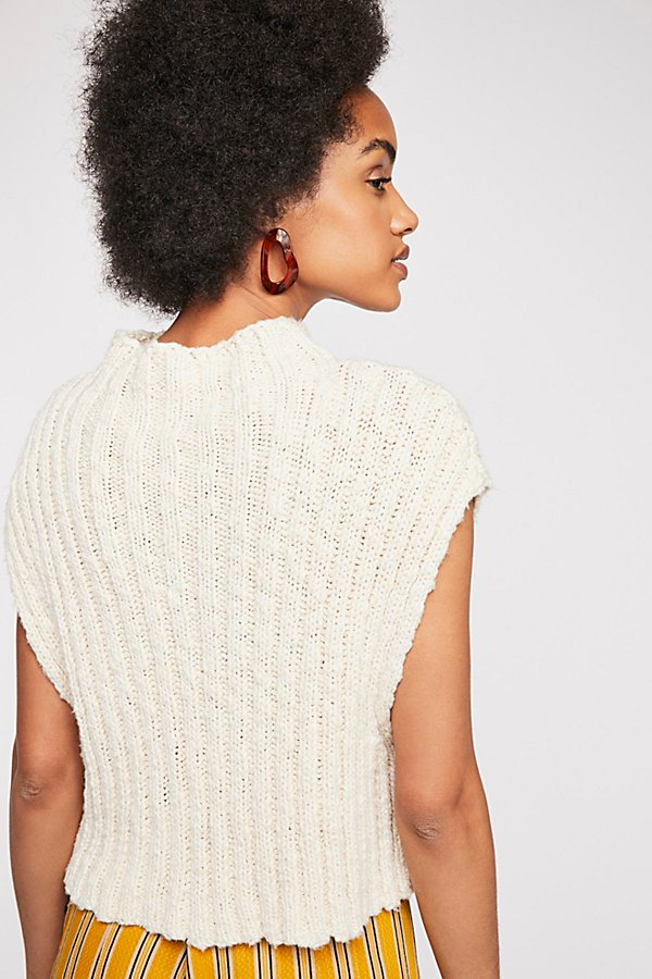 Slide View 3: Twisted Cable Sweater
