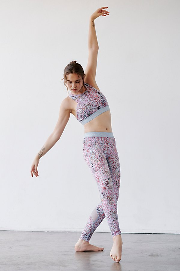 Slide View 1: Twist Pointe Printed Low Rise Legging