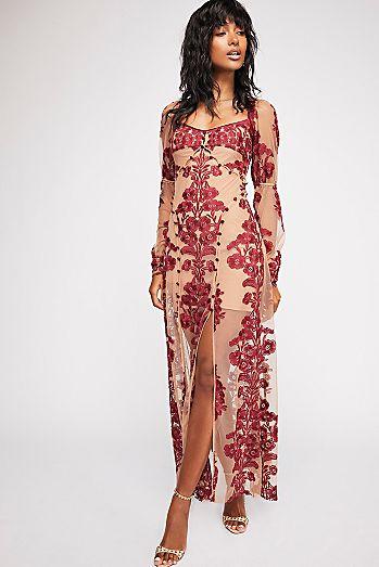 Temecula Fall Maxi Dress