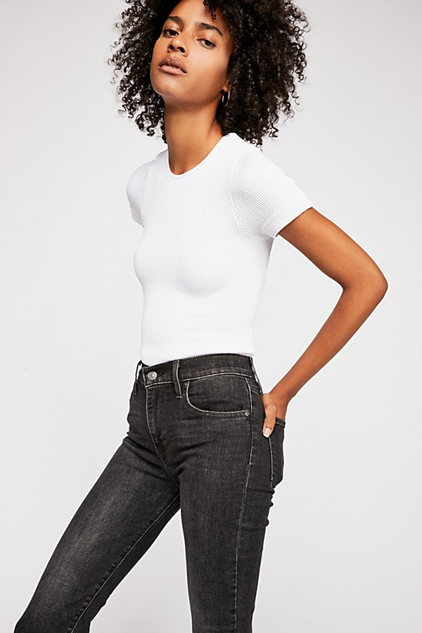 Slide View 2: Levi's 724 Straight Crop Jeans