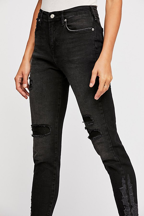 Slide View 4: About A Girl High Rise Skinny Jeans
