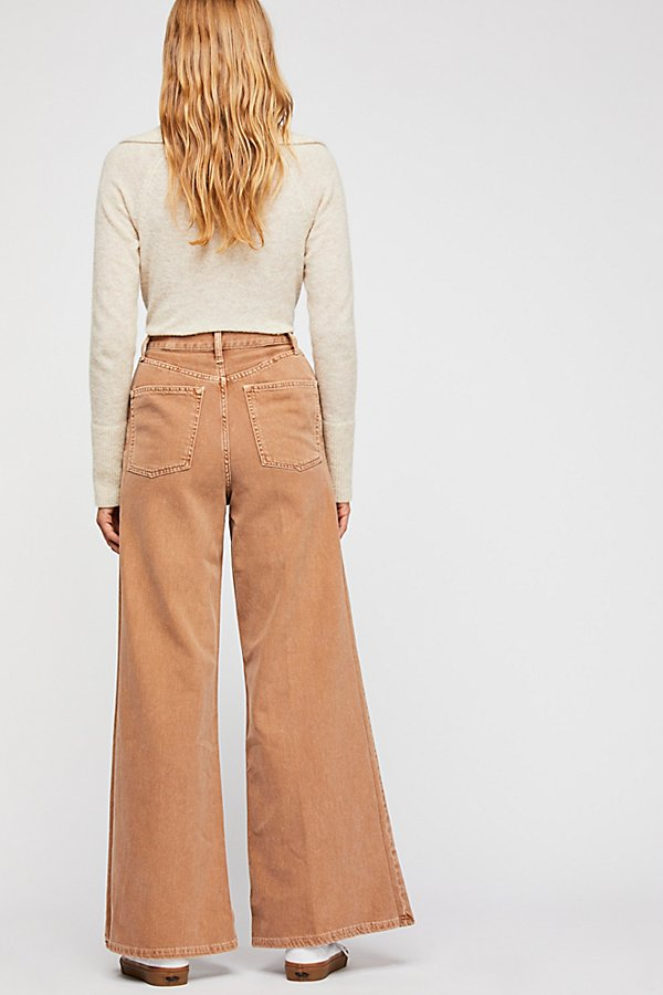 Slide View 2: Super High Rise Wide Leg Jeans