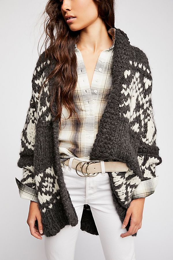 Cashmere Wrap Cardi | Free People