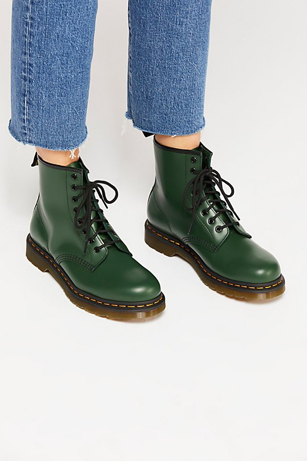 Slide View 2: Dr. Martens 1460 Smooth Lace-Up Boot