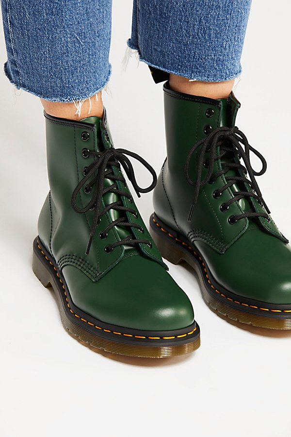 Slide View 3: Dr. Martens 1460 Smooth Lace-Up Boot