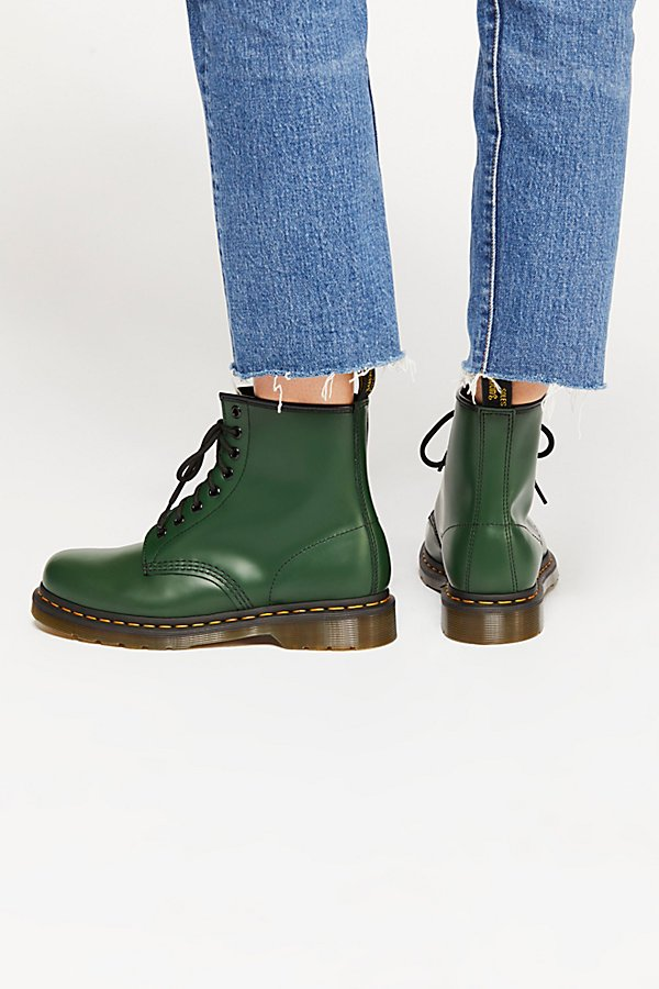Slide View 4: Dr. Martens 1460 Smooth Lace-Up Boot