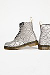 Thumbnail View 4: Dr. Martens Pascal Silver Lace-Up Boot