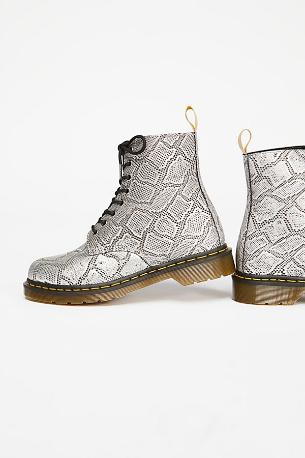 Slide View 4: Dr. Martens Pascal Silver Lace-Up Boot