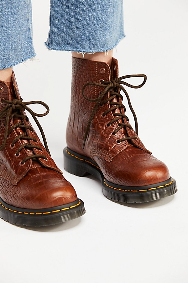 Slide View 3: Dr. Martens Pascal Croc Boot