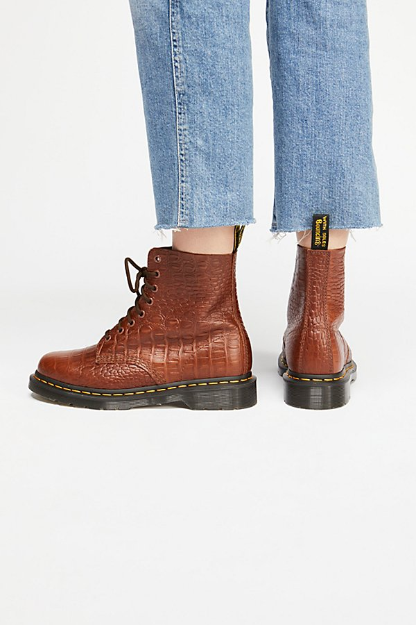 Slide View 4: Dr. Martens Pascal Croc Boot