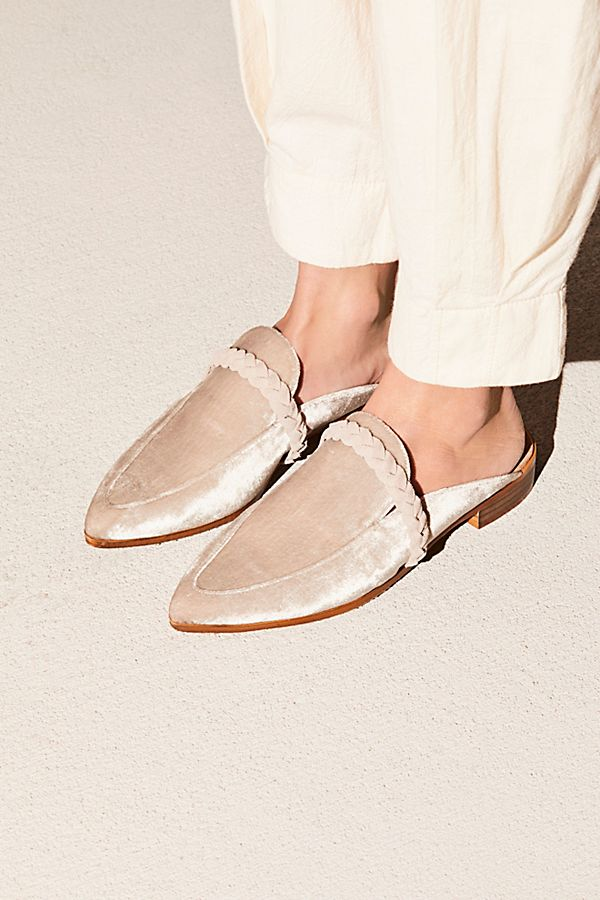 Chic Velvet Loafer | Free People