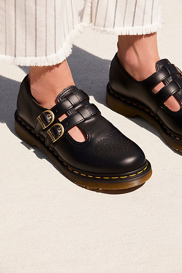 幻灯片视图 1: Dr. Martens 8065 Mary Jane平底鞋