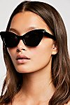 Thumbnail View 1: Florence Cat Eye Sunglasses