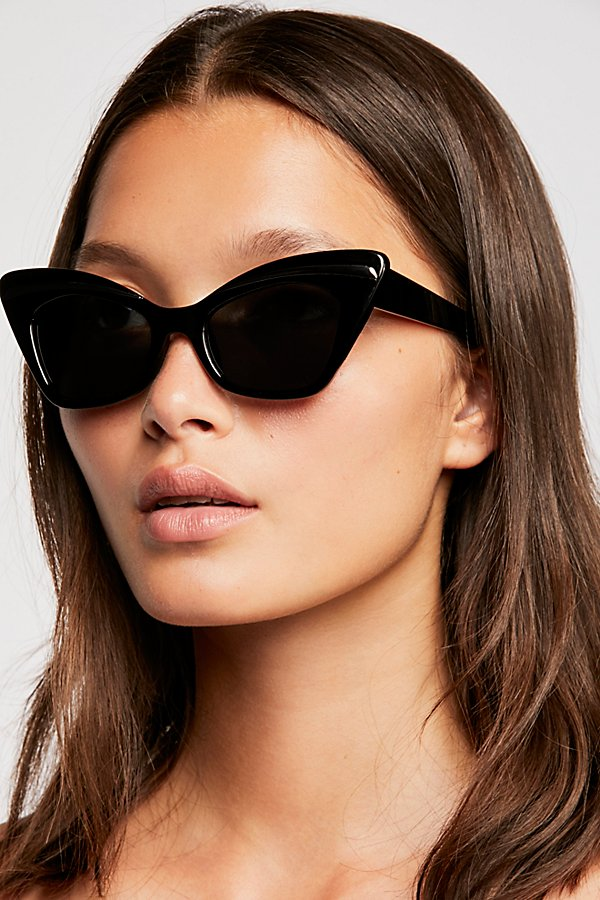 Slide View 1: Florence Cat Eye Sunglasses