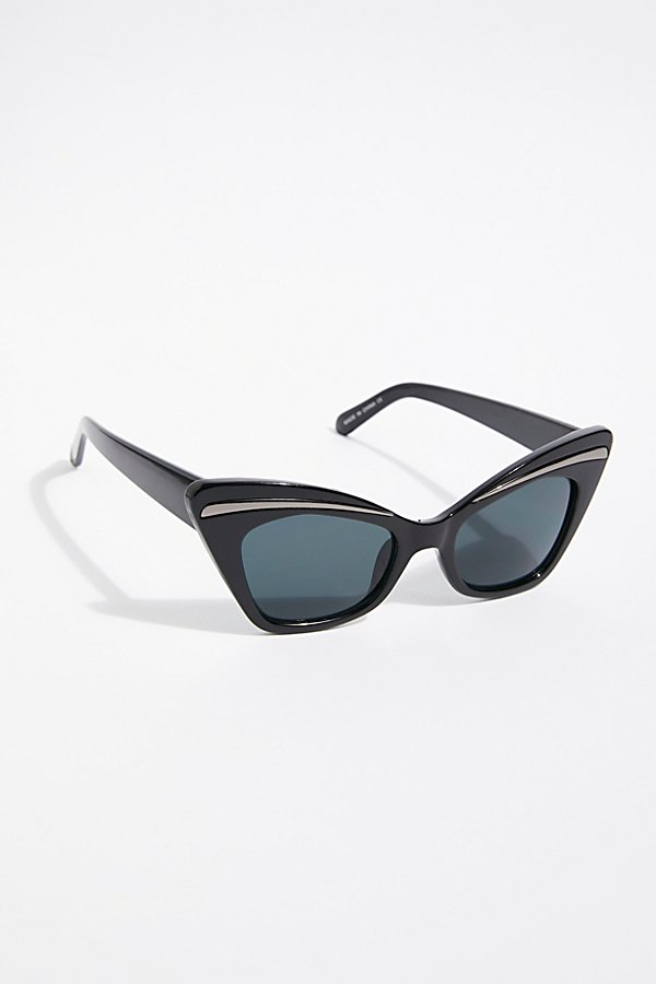 Slide View 2: Florence Cat Eye Sunglasses