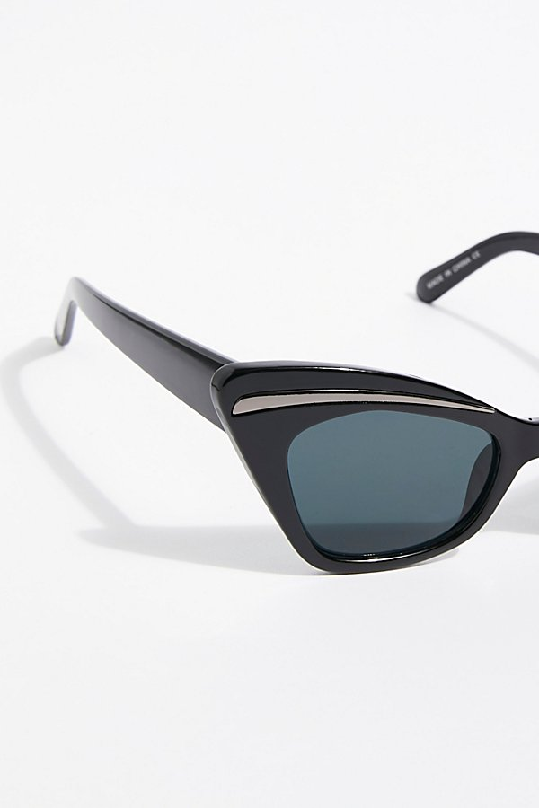 Slide View 3: Florence Cat Eye Sunglasses