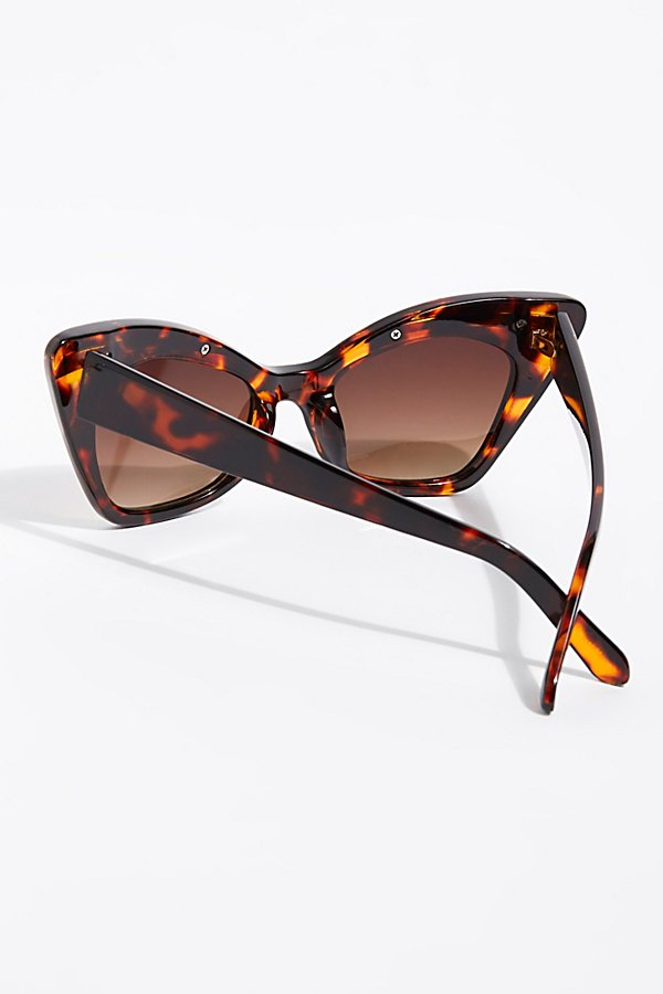 Slide View 4: Florence Cat Eye Sunglasses
