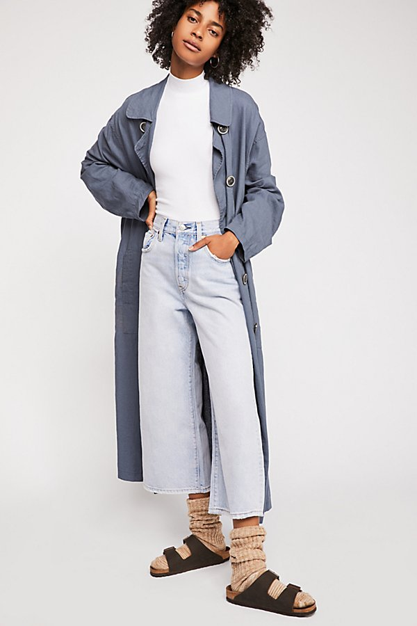 Slide View 1: Levi's High Water Wide Leg Jeans