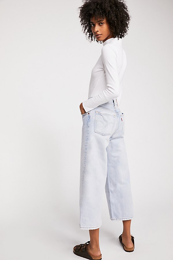 Slide View 2: Levi's High Water Wide Leg Jeans