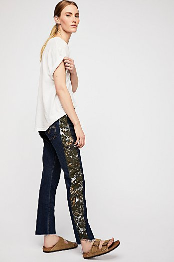 Rialto Jean Project Camille Side Stripe Jeans