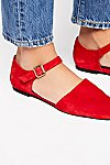 Thumbnail View 3: Margaret Square Toe Flat