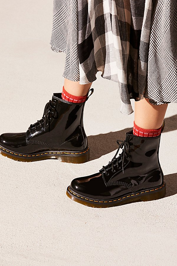 Slide View 1: Dr. Martens 1460 W High Shine Boot