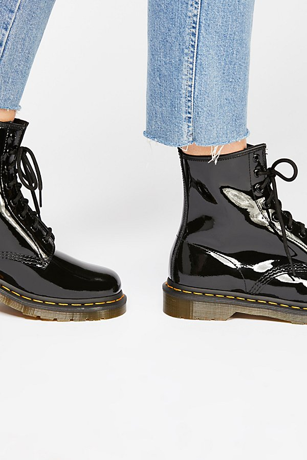 Slide View 3: Dr. Martens 1460 W High Shine Boot