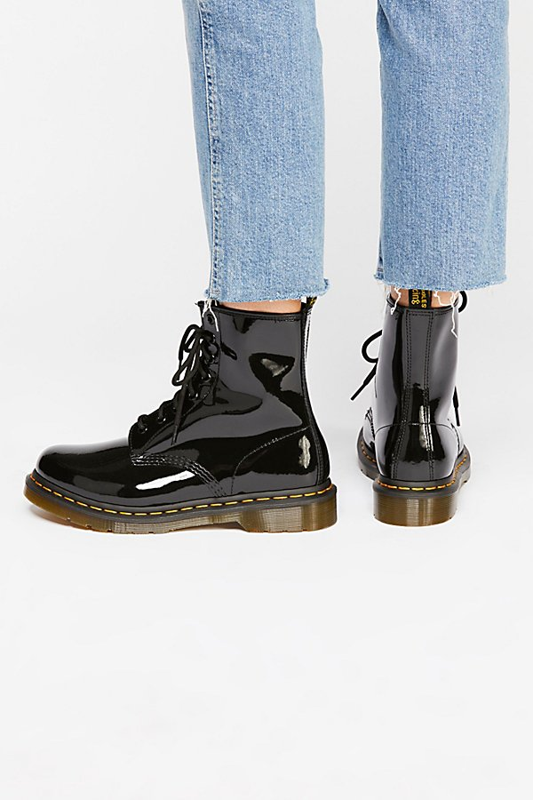 Slide View 4: Dr. Martens 1460 W High Shine Boot