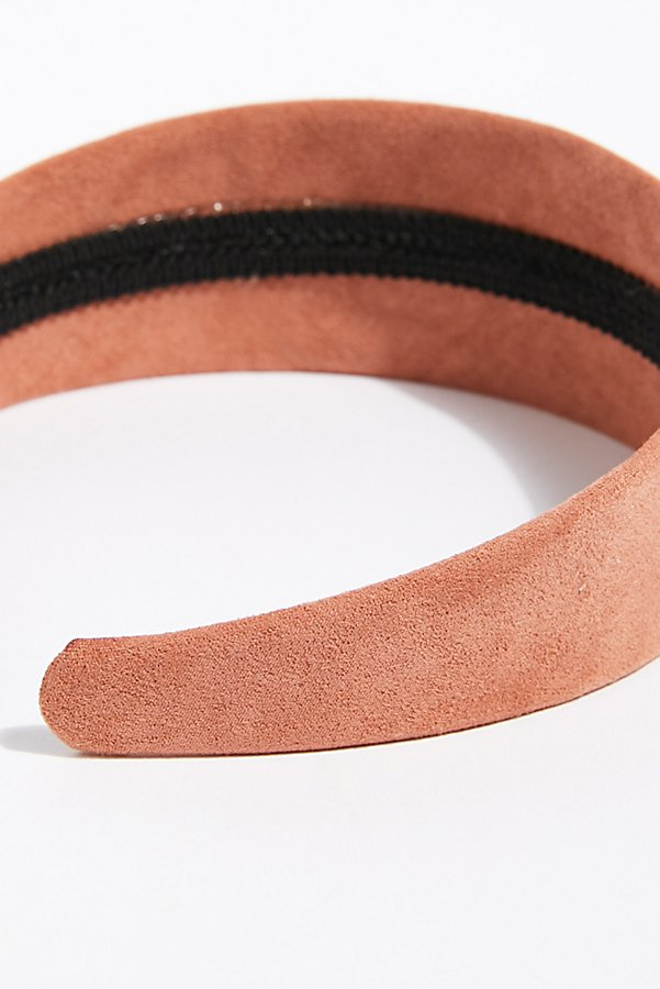 Slide View 3: Mod Suede Headband