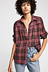 Thumbnail View 1: Moon Holiday Plaid Buttondown