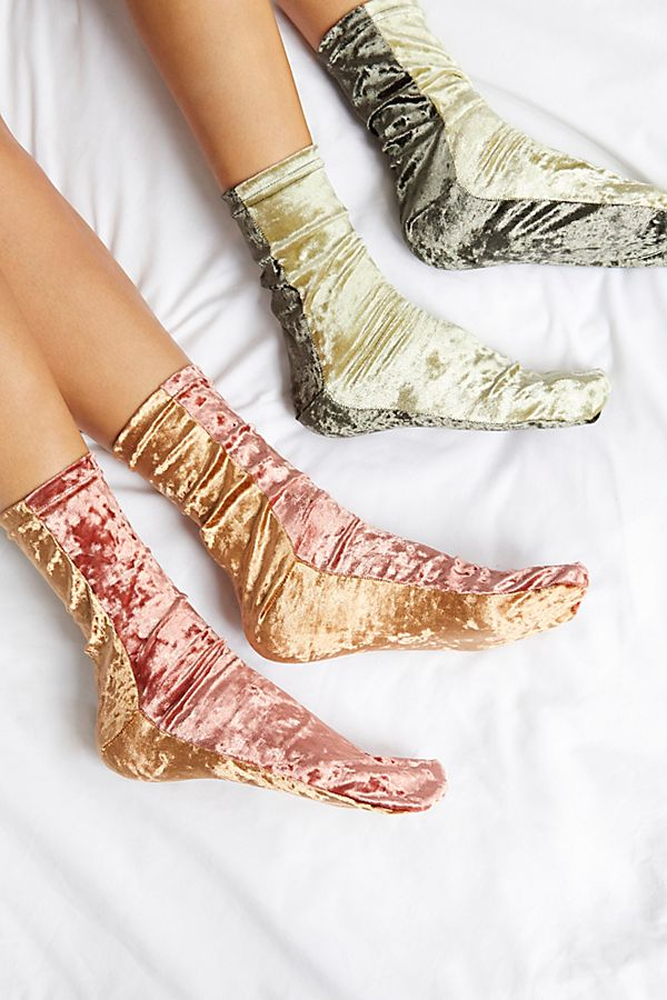 Colorblock Velvet Sock | Free People