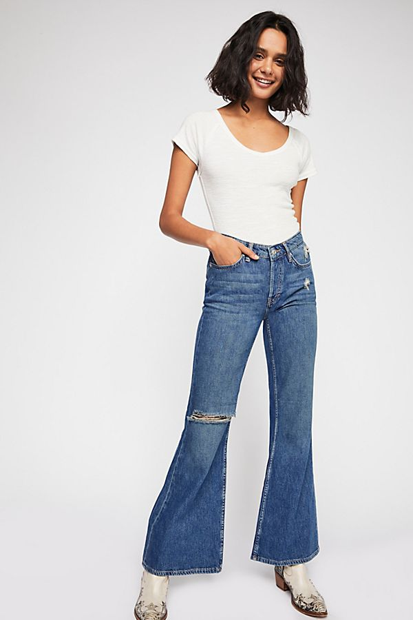 View Relaxed 1 Jeans Flare Slide Heritage Bpdx8qwv