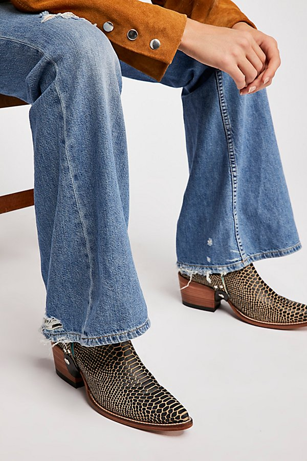 Slide View 5: Relaxed Heritage Flare Jeans