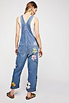 Thumbnail View 2: Rialto Jean Project Floral Painted Overalls
