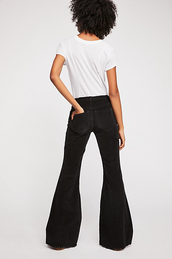 Slide View 3: Vintage Cord Flare Pants