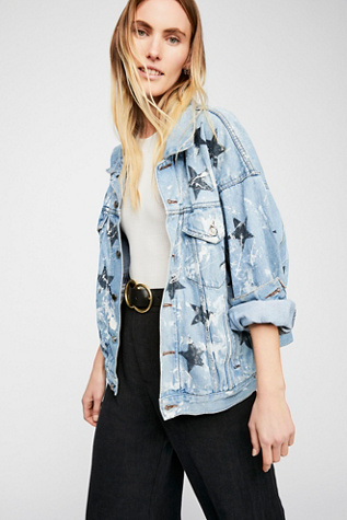 Star Denim Jacket by Free People
