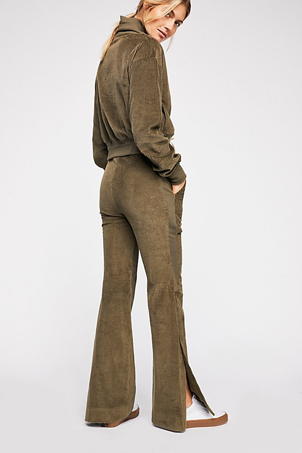 Slide View 2: Champlain Cord Wide-Leg Pants