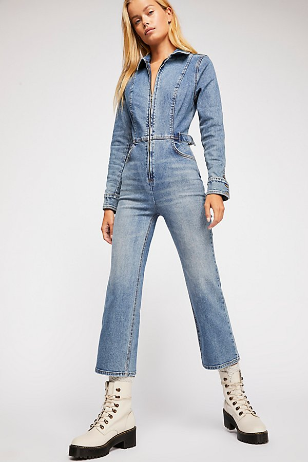 Slide View 1: Take Me Out Flare Jumpsuit