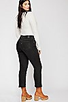 Thumbnail View 2: Levi's Curvy Straight Crop Jeans