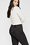 Thumbnail View 3: Levi's Curvy Straight Crop Jeans