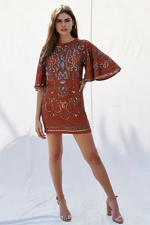 Slide View 3: Bali Light My Fire Mini Dress