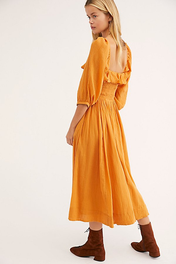 Slide View 3: Oasis Midi Dress