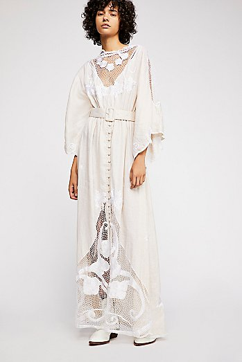 Daisy Chain Reaction Maxi Dress