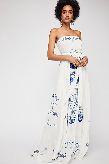 Mr. Mistoffelees Tube Maxi Dress
