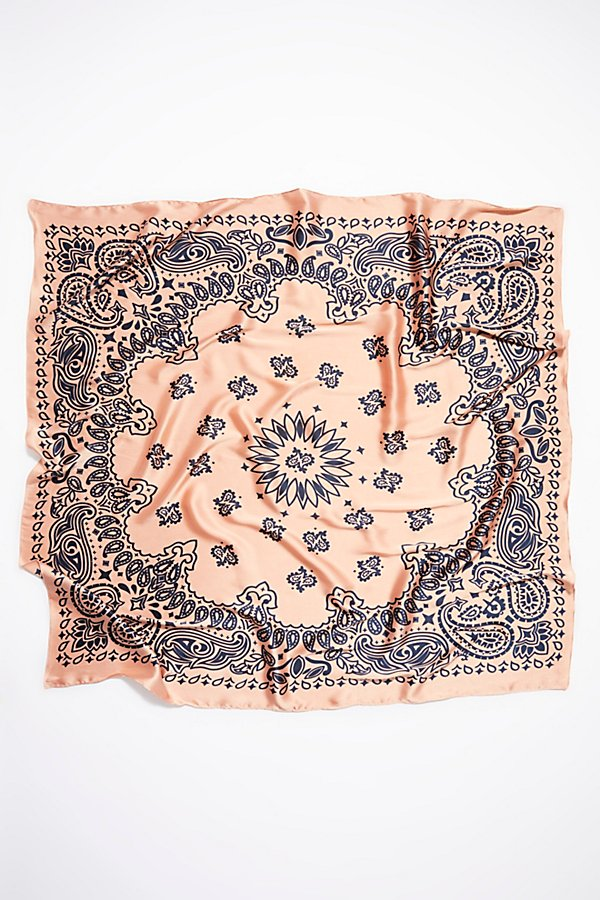 Slide View 2: Savannah Silky Print Bandana
