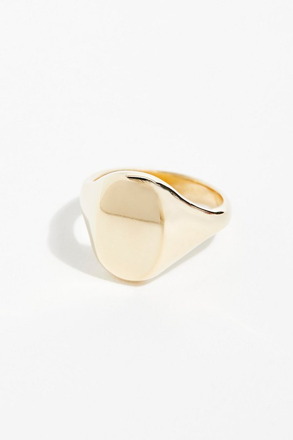 Slide View 1: Eliot Signet Ring